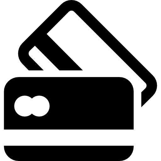 Black And White Credit Cards Icons Free Download