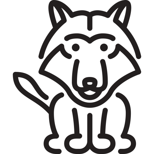 Black Wolf Icons, Download Free Png And Vector Icons
