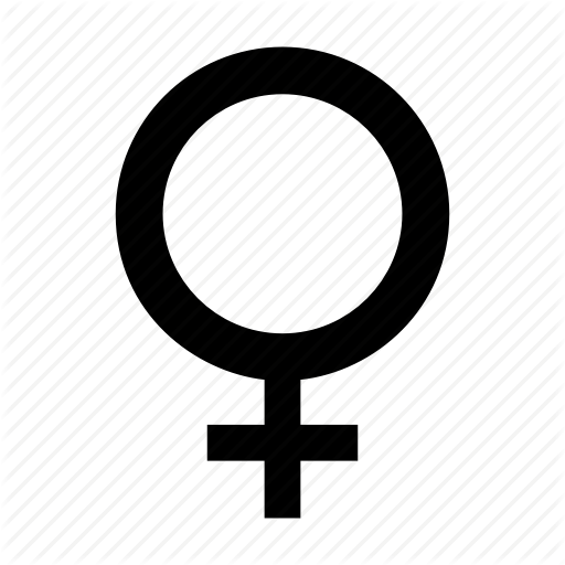 Female, Gender, Sign, Woman Icon