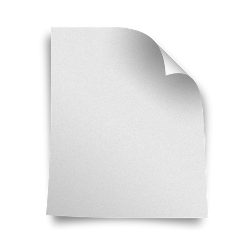 Page, Blank Icon