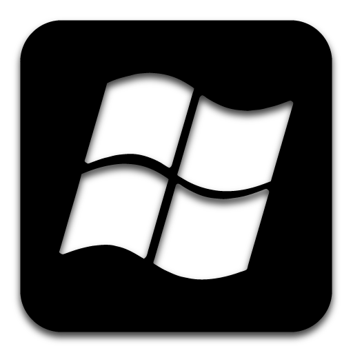 Application Icon Black Images