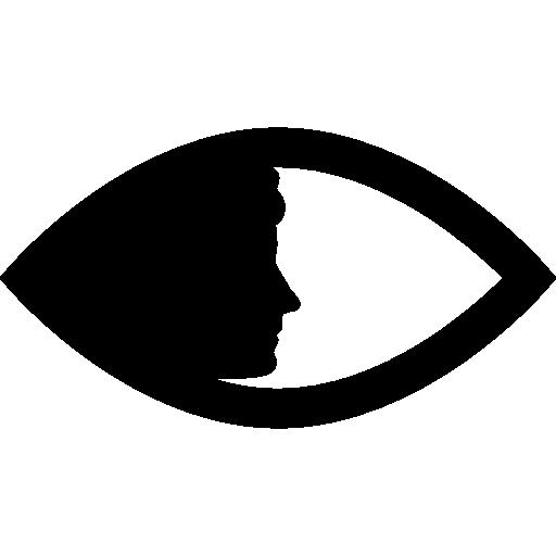 Women, Face, Eye Side Icon Png