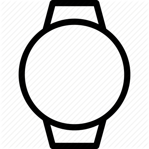 Blank, Cirle, Computer, Device, Electronics, Face, Timepiece Icon