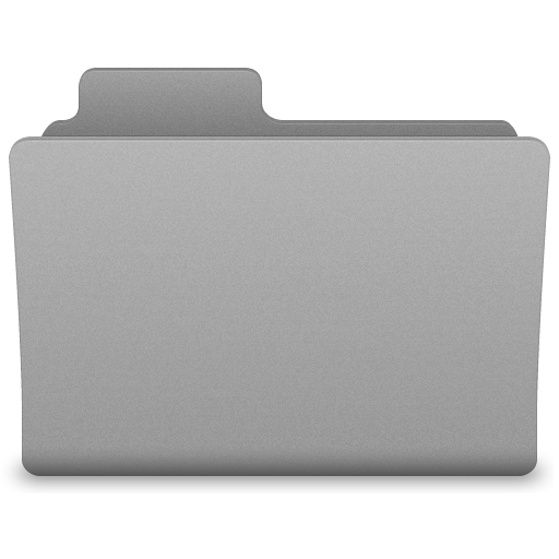 Grey Generic Folder Icon