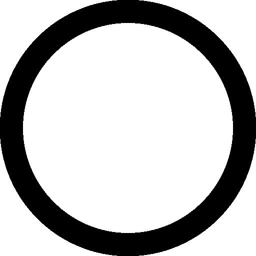 Blank Circle Icon Web Application Ui Set Freepik