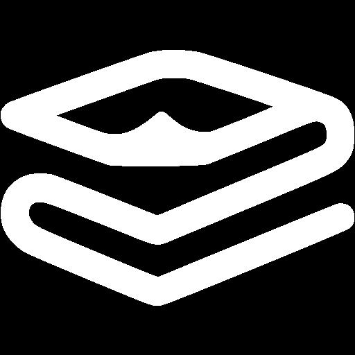 White Foil Space Blanket Icon