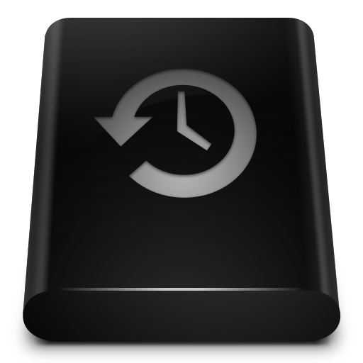 Black Drive Backup Icons, Free Icons In Blend