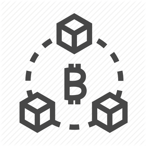 Bitcoin, Blockchain, Crypto, Currency, Digital Icon