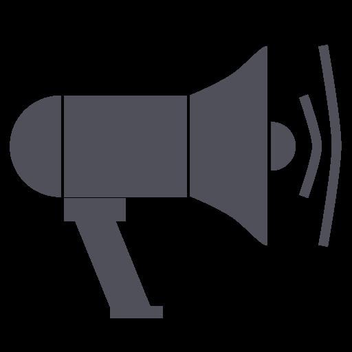 Blogger, Speaker, Blog, Post, Megaphone Icon