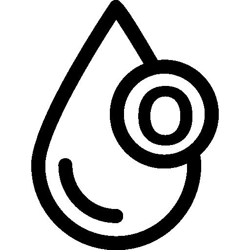Blood Drop Symbol Icons Free Download