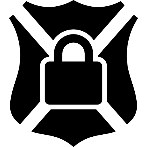 Shield Symbol With Lock Icons Free Download