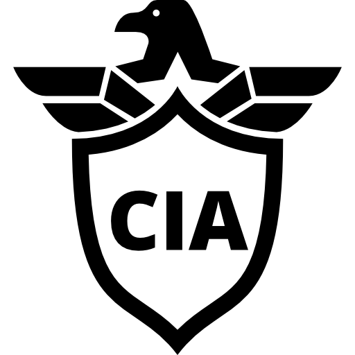 Cia Shield Symbol With An Eagle Icons Free Download