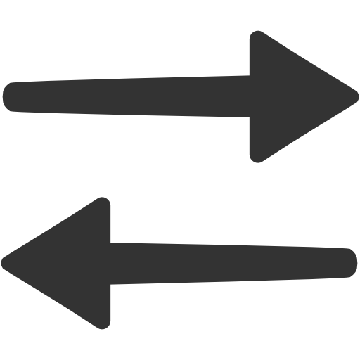 Data In Both, Directions, Transfer, Arrow Icon Free Of Windows Icon