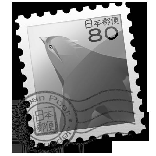 Grey Bluebird Icon