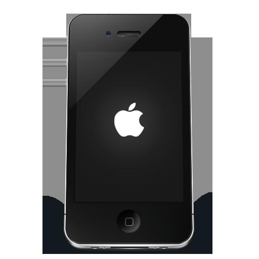 Iphone Black Apple Icon Iphone Iconset
