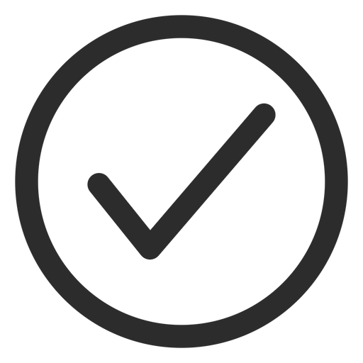 Tick Check Mark Stroke Icon