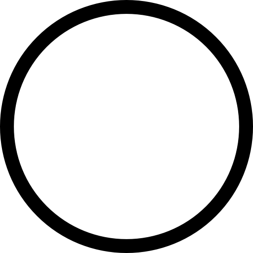Circle Outline Icons Free Download