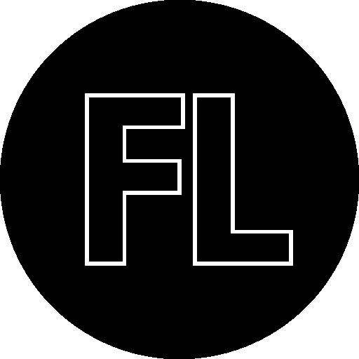 Fl, Blue, Arts Icon