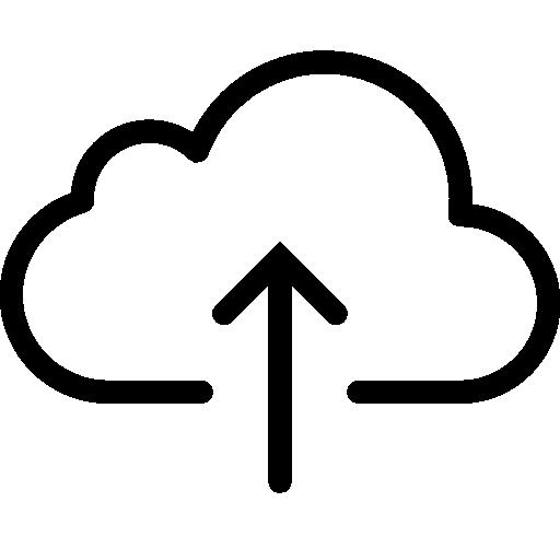 Very Basic Upload To Cloud Icon Ios Iconset