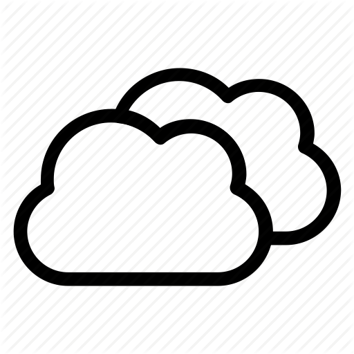 Bluesky, Cloud, Clouds, Cloudy, Forecast, Sky, Weather Icon