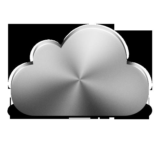 Cloud, Icon, Plain, Silver Icon