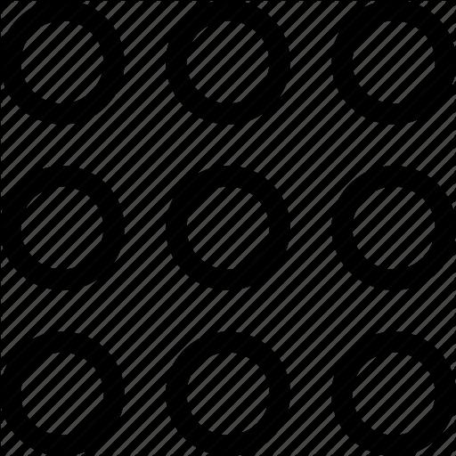 Ball, Circles, Dot, Many Icon