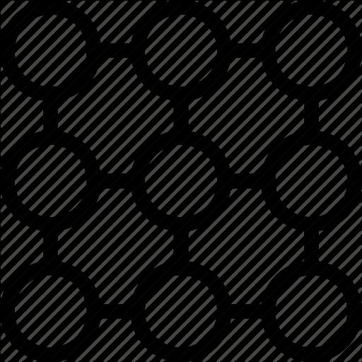 Balls, Circles, Connect, Dot, Many, Network Icon