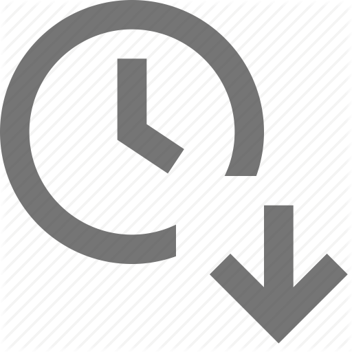 Arrow, Clock, Day, Down, Download, Reminder, Schedule, Time Icon