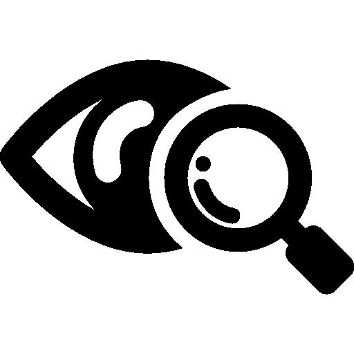 Eye Scanner Medical Symbol Icons Free Download