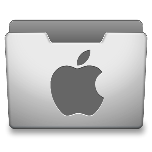 Aluminum Grey Mac Icon