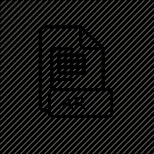 Ar, Blue, Creative, Data, File, Id Icon