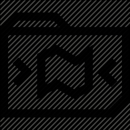 Data, File, Folder, Map, Save Icon