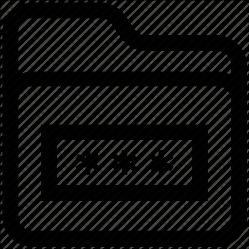 Folder, Folder Code, Folder Secure, Internet Password, Password