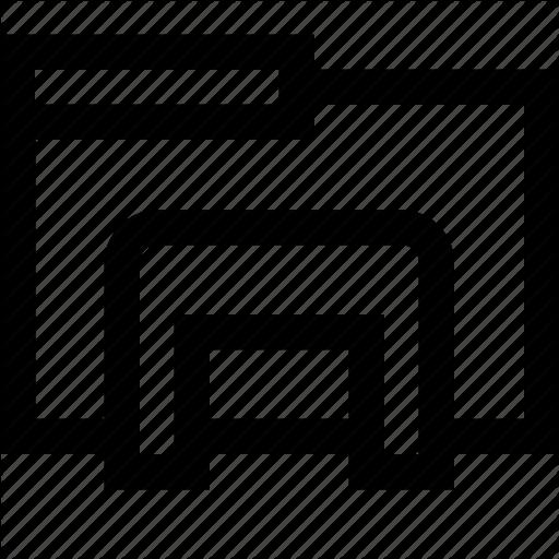 Bunch, Explorer, File, Folder, Interface Icon