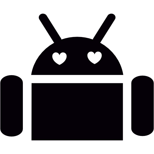 Android With Heart Eyes