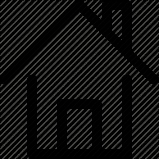 House Icon Schematic Diagram