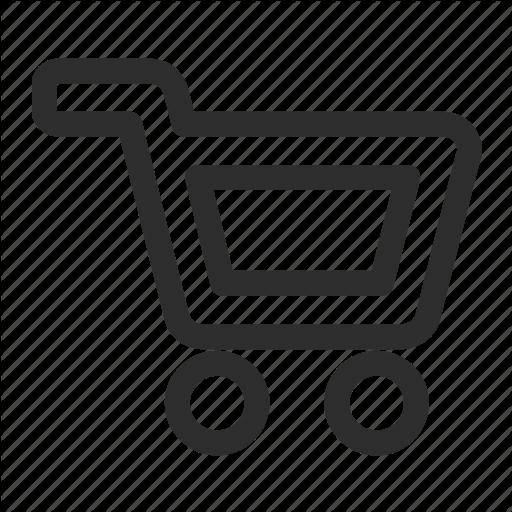 Bag, Cart, Empty Icon