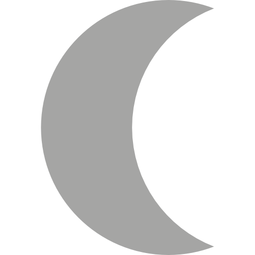 Moon Phase, Signs, Half Moon, Night, Nature, Moon Icon