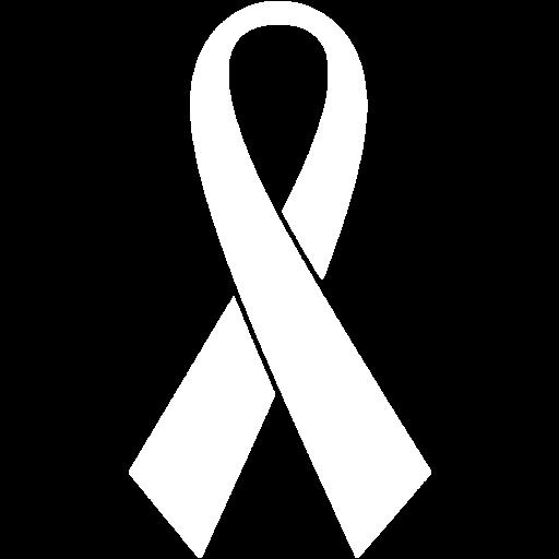 White Ribbon Icon