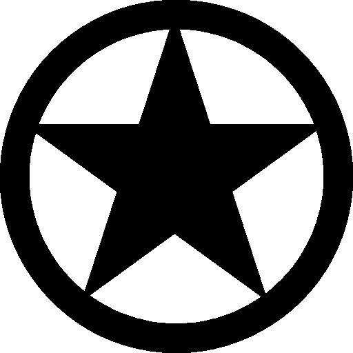 Red Blue States Symbol Star Circle Shield Eagle Logo Image