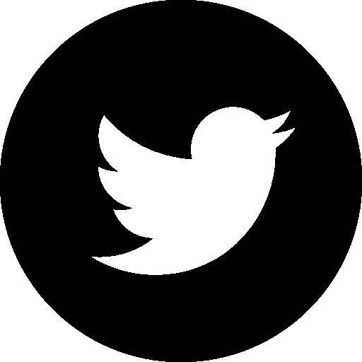 Twitter Circular Logo Icons Free Download