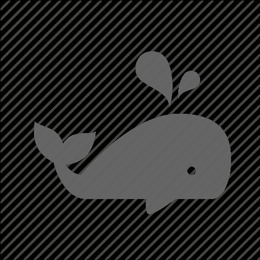 Blower, Blue, Fish, Fountain, Life, Ocean, Whale Icon