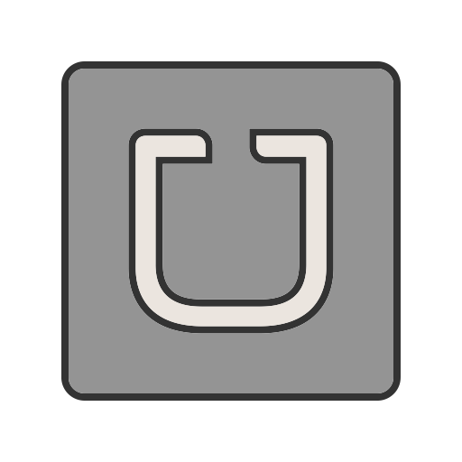Mobile Filled Outline Icon