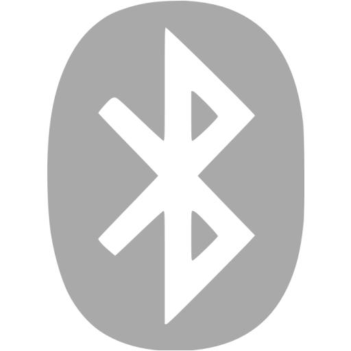 Dark Gray Bluetooth Icon