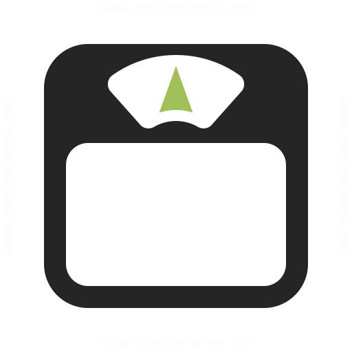Body Scale Icon Iconexperience