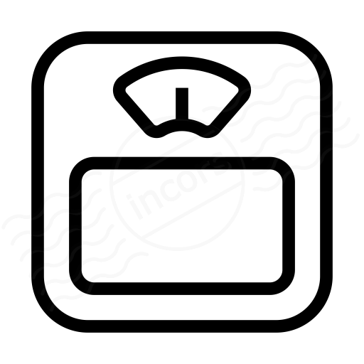 Iconexperience I Collection Body Scale Icon