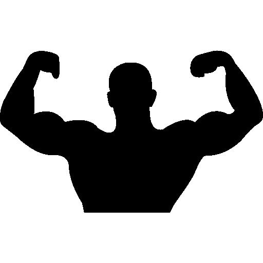 Collection Of Free Bodybuilder Vector Flex Download On Ui Ex