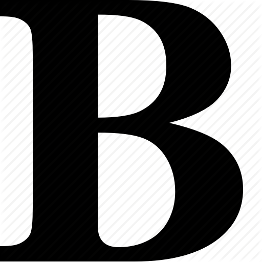 B, Bold, Document, Font, Format, Text, Type Icon