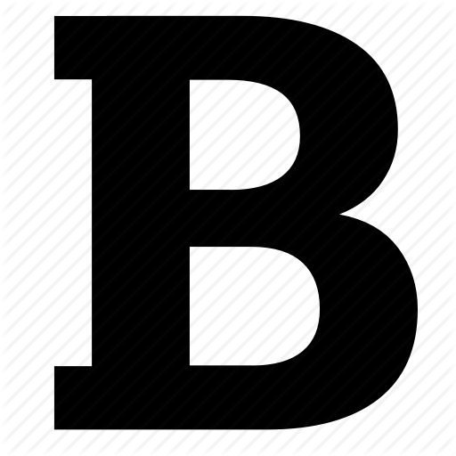 Bold, Edit, Format, Text, Weight Icon