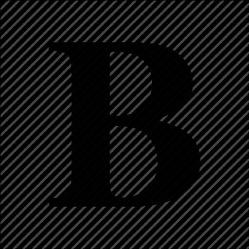 Bold, Edit, Text Icon